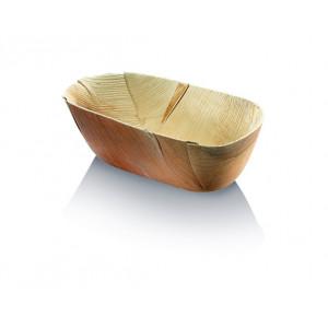 Barquette biodégradable en palmier 22 x 12.6 cm (x20) Crokus