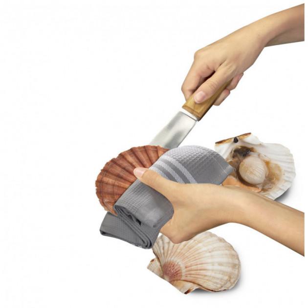 Utilisation du couteau coquillage Tellier