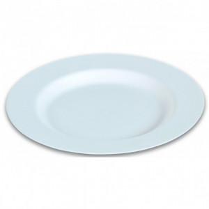 Assiette biodégradable plate en Canne à sucre Ø27 cm (x50) Crokus