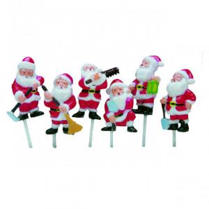 Décor Père Noël 6 modèles assortis x72