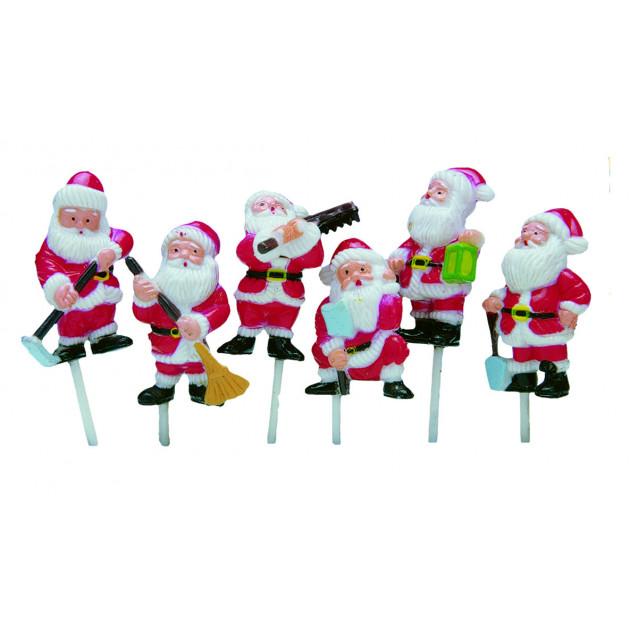 Decor Pere Noel 6 modeles assortis x72