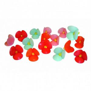 Petites Fleurs azyme assorties Ø2,5 cm (x100) Mallard Ferrière