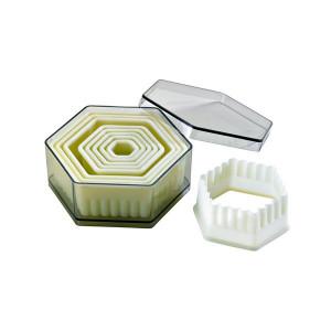 Emporte Pièce Hexagonaux Cannelés Polyglass (x9)