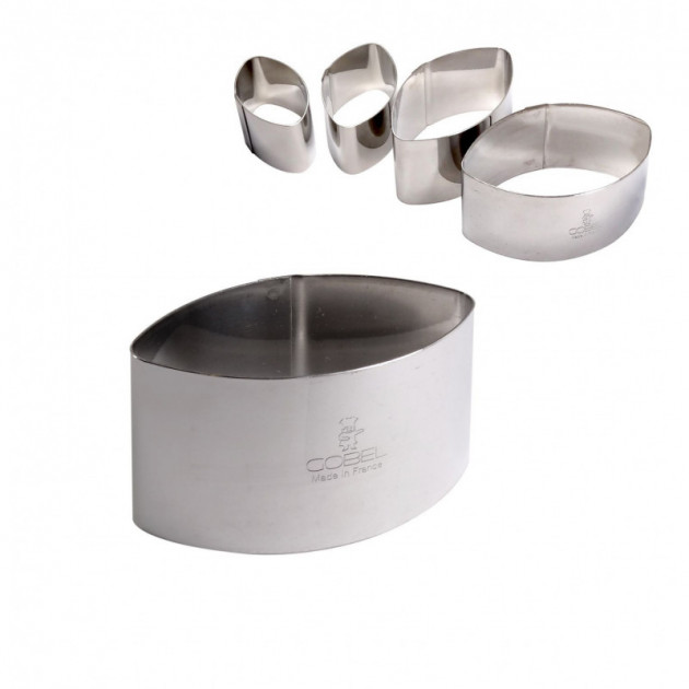 Emporte Piece Calisson 5.3 x 3 H 3 cm Inox Gobel