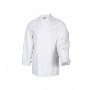 Veste de Cuisine Mixte Blanc TAMISE T.1 Robur