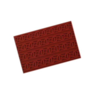 Tapis Relief silicone Carré Grec