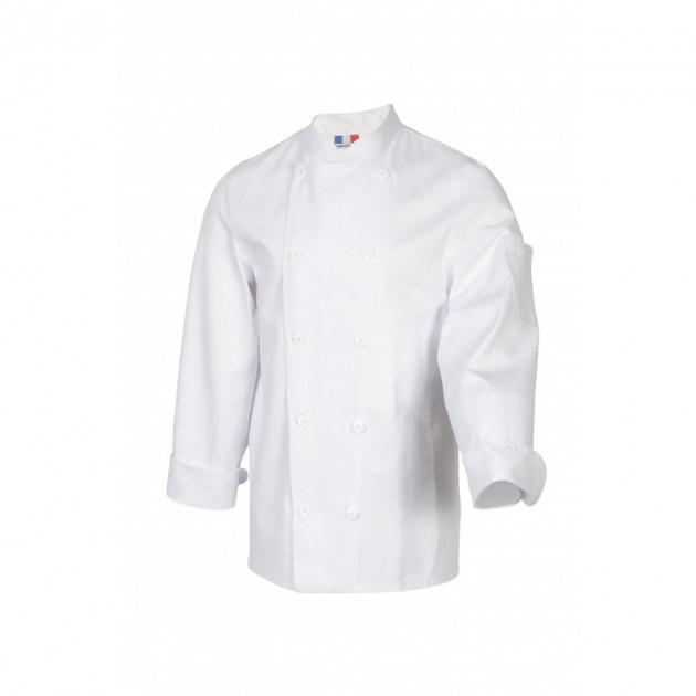 Veste de Cuisine Mixte Blanc TAMISE T.8 Robur