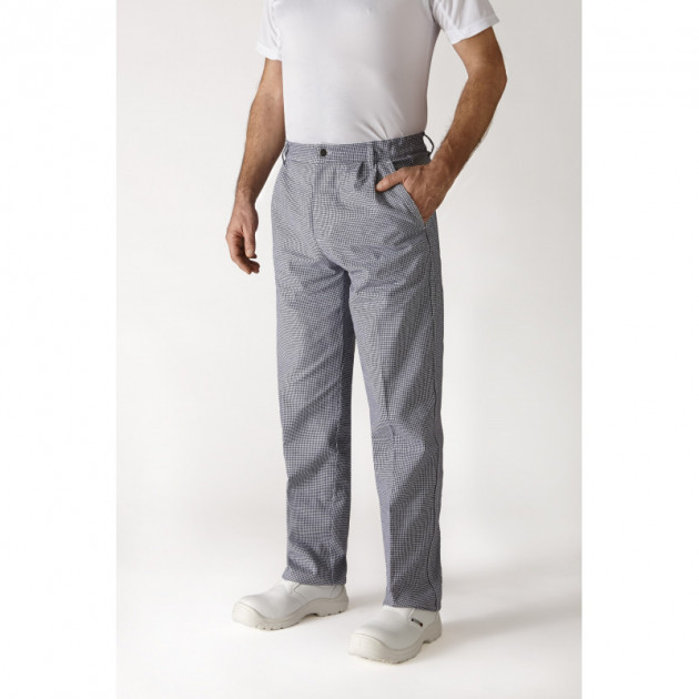 Pantalon de Cuisine Mixte pied de poule OURAL T.40 Robur