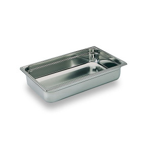 Bac Gastronorme Inox GN 1/1 H 4cm Matfer Bourgeat