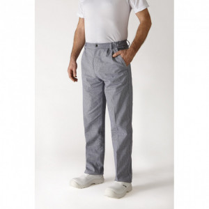 Pantalon de Cuisine Mixte pied de poule OURAL T.48 Robur