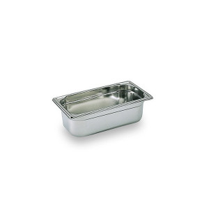 Bac Gastronorme Inox GN 1/3 H 6.5cm Matfer Bourgeat