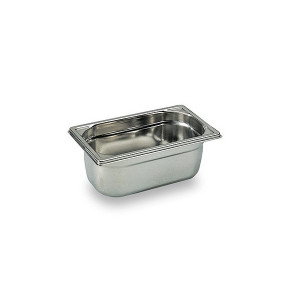 Bac Gastronorme Inox GN 1/4 H 10cm Matfer Bourgeat