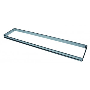 Cadre Rectangle Inox 35 x 11 cm