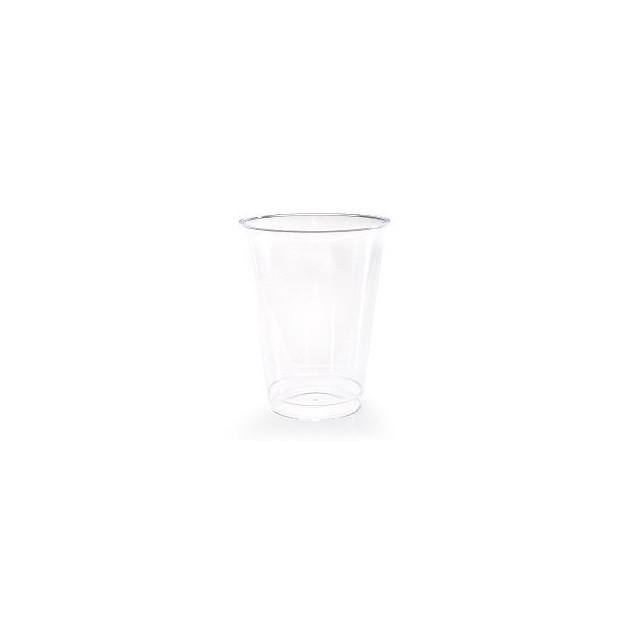 Gobelet plastique Cristal 25 cl (x25) Crokus