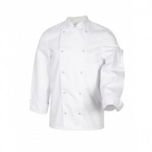 Veste de Cuisine Mixte Blanc MELBOURNE T.1 Robur
