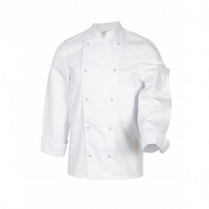 Veste de Cuisine Mixte Blanc MELBOURNE T.5 Robur