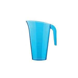 Pichet plastique Bleu 1,5L Crokus