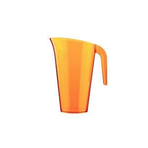 Pichet plastique Orange 1,5L Crokus