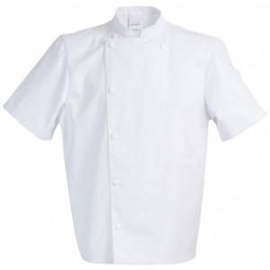 Veste de Cuisine Mixte Blanc MADRAS T.2 Robur
