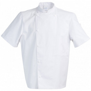 Veste de Cuisine Mixte Blanc MADRAS T.4 Robur