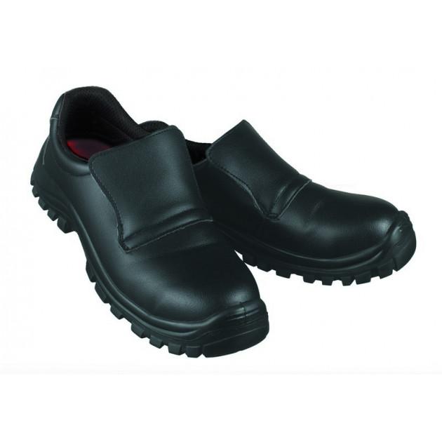 Chaussures de Cuisine T.39 Noir BONIX Robur