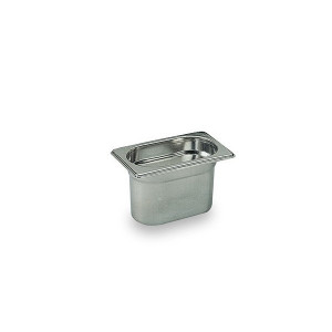 Bac Gastronorme Inox GN 1/9 H 10cm Matfer Bourgeat