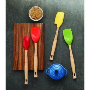 spatule plate silicone