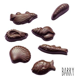 Moule Chocolat Friture de Pâques (x35) Barry
