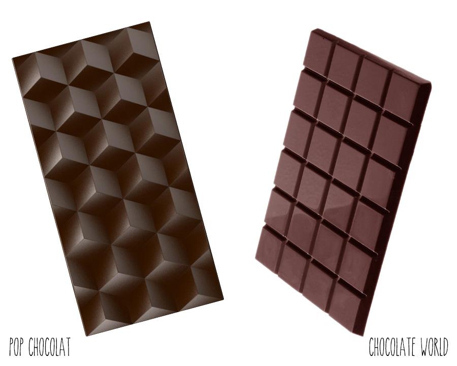 Moules en Polycarbonate Tetris et Tablette classique