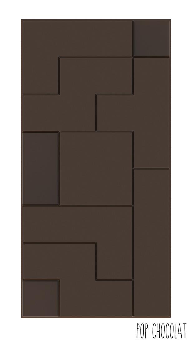 Moule Chocolat Tablette Rectangulaire Tetris