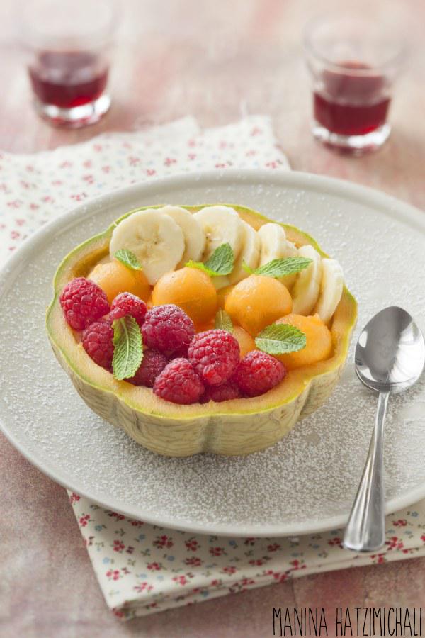 Melon salade de fruit
