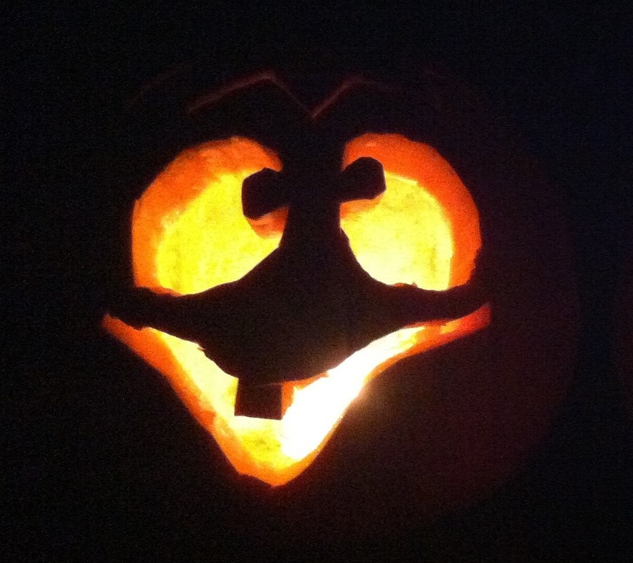 Citrouille Halloween rigolote