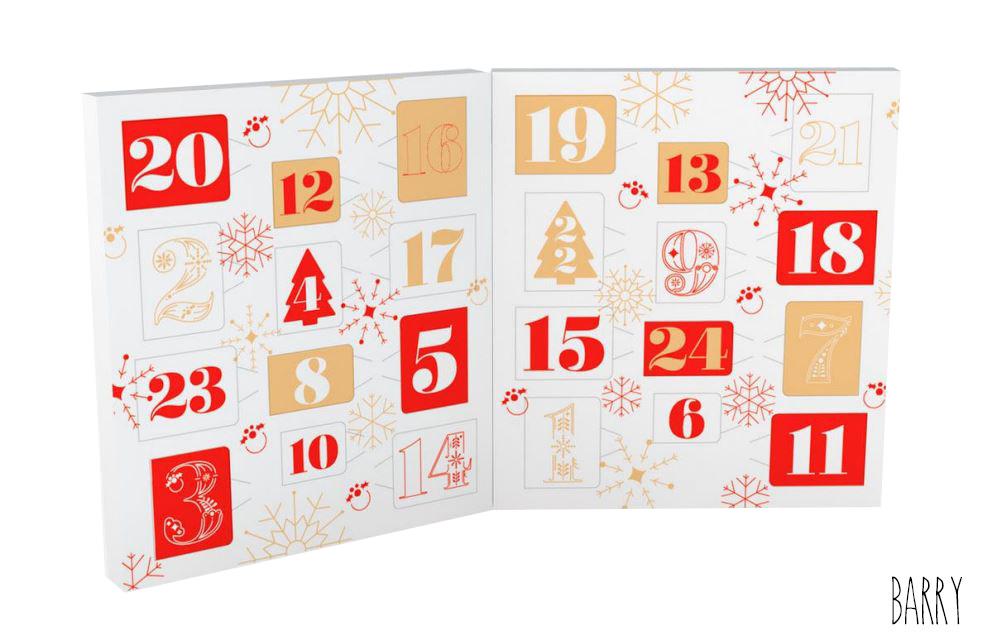 Calendrier de l'Avent Livre Joyeux Noël Barry