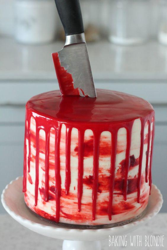 Gâteau sanguinolant