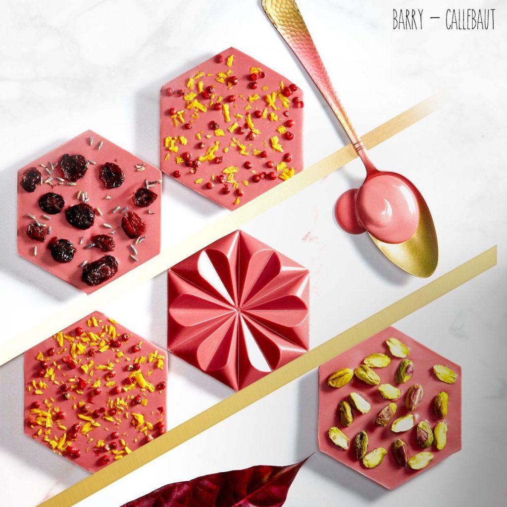 Tablettes de Chocolat Rubis