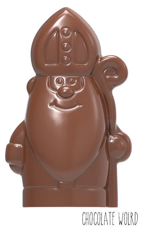 Moule Chocolat Saint Nicolas 10 cm (x4) Chocolate World