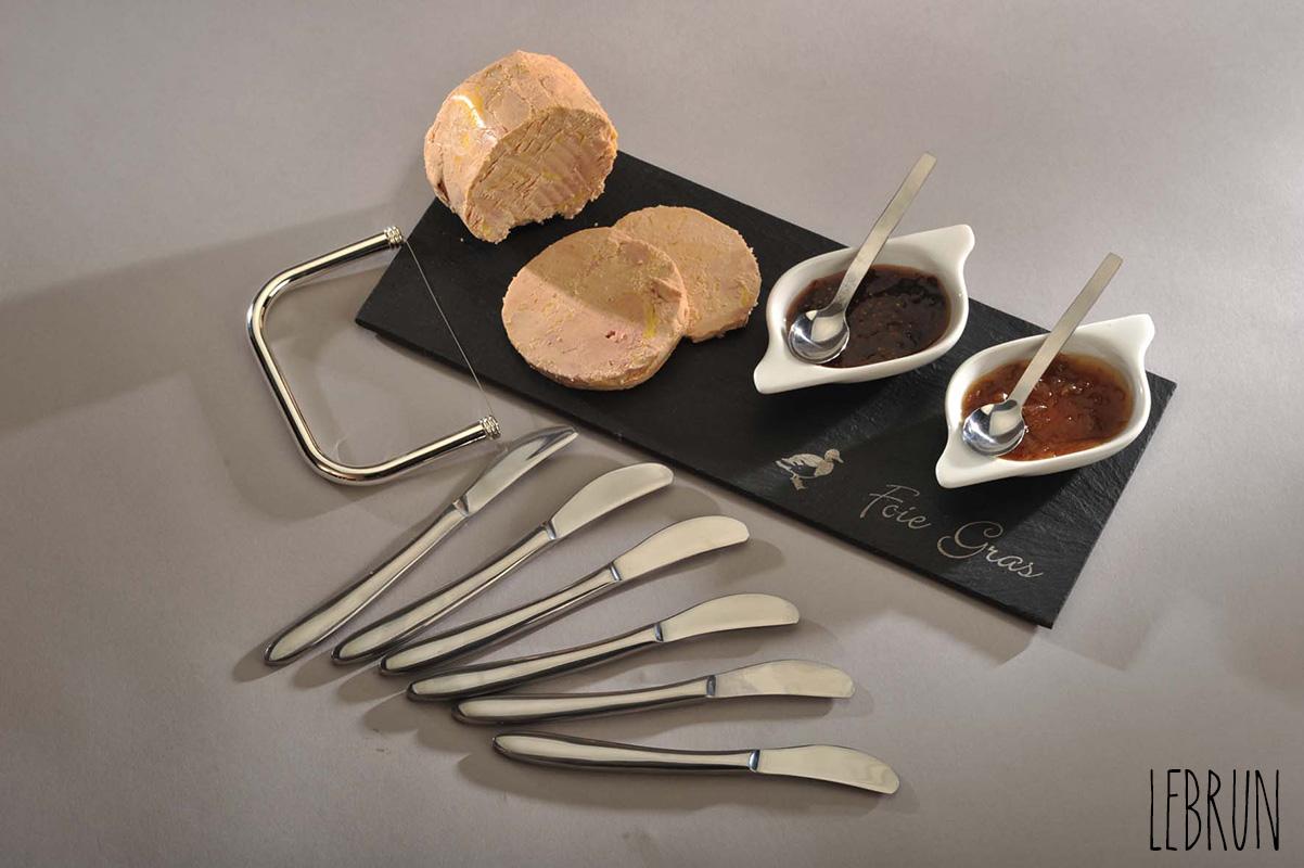 Service à Foie Gras 12 pièces Lebrun Couvert