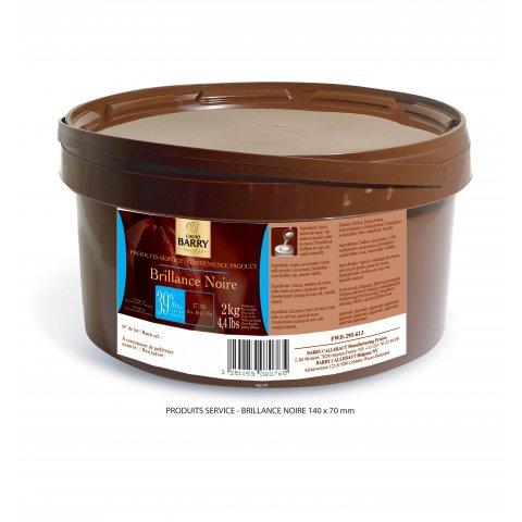 glacage miroir chocolat