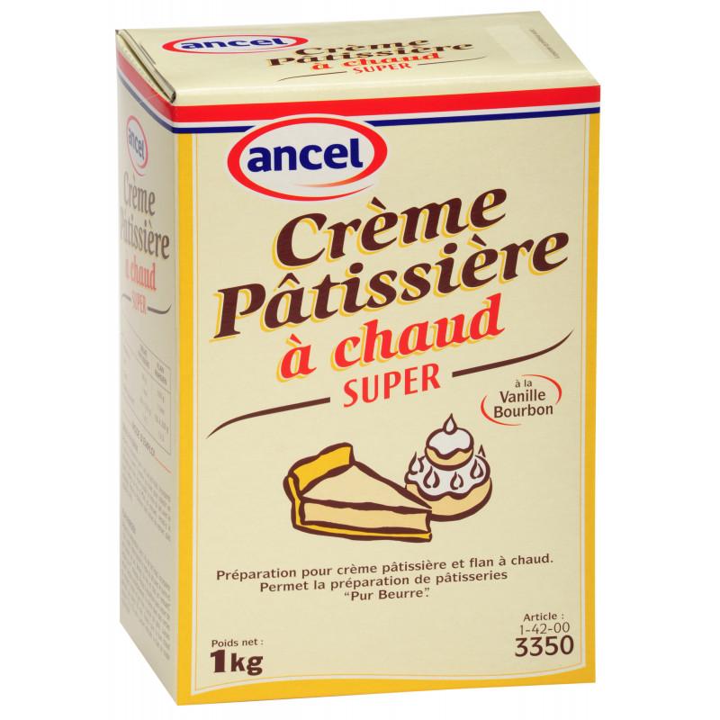 Crème Pâtissière à chaud Super 1 kg Ancel