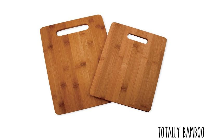 Set de 2 Planches à Découper Totally Bamboo