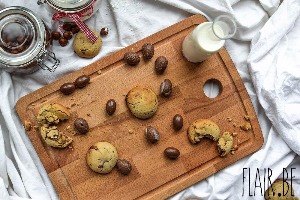 Réalisez de succulents cookies avec les restes de vos oeufs de Pâques !
