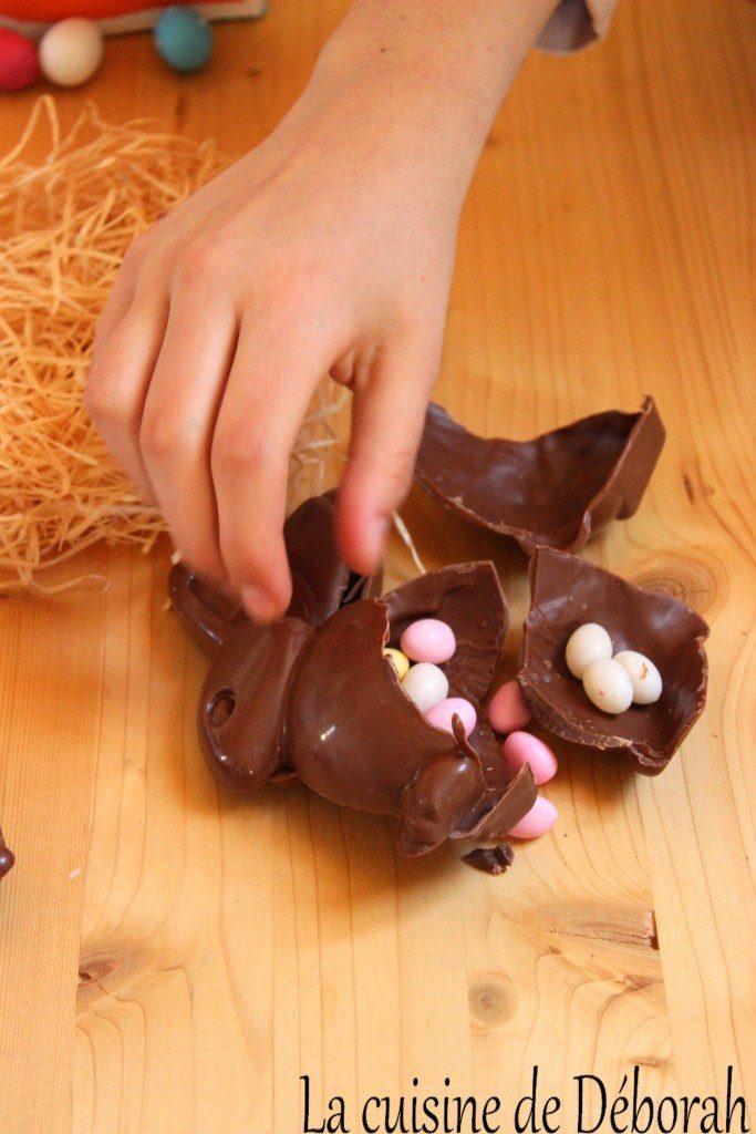 Lapins en chocolat