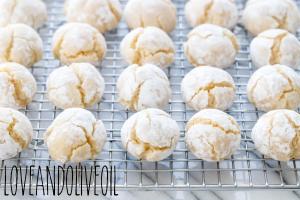 Retrouvez la recette simple et rapide des amaretti faits à base de poudre d'amande