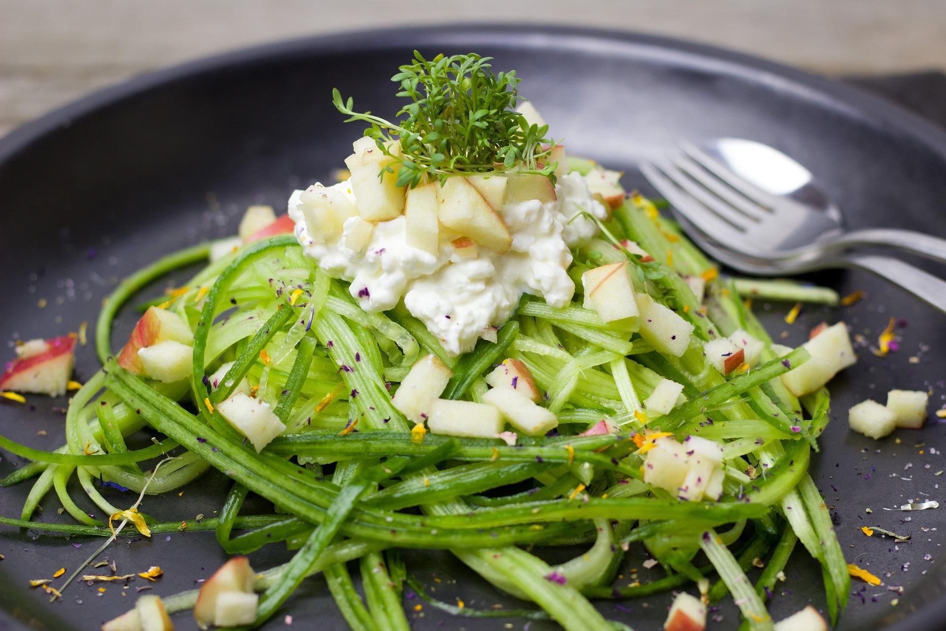 Réalisez un délicieux repas avec des tagliatelles de légumes