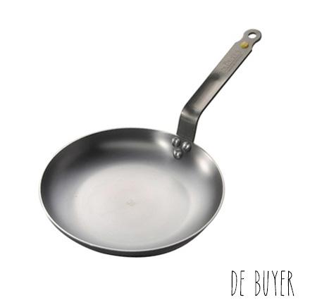 Poêle à omelette Ø 24 cm Minéral B Element de Buyer - Poêles en Fer