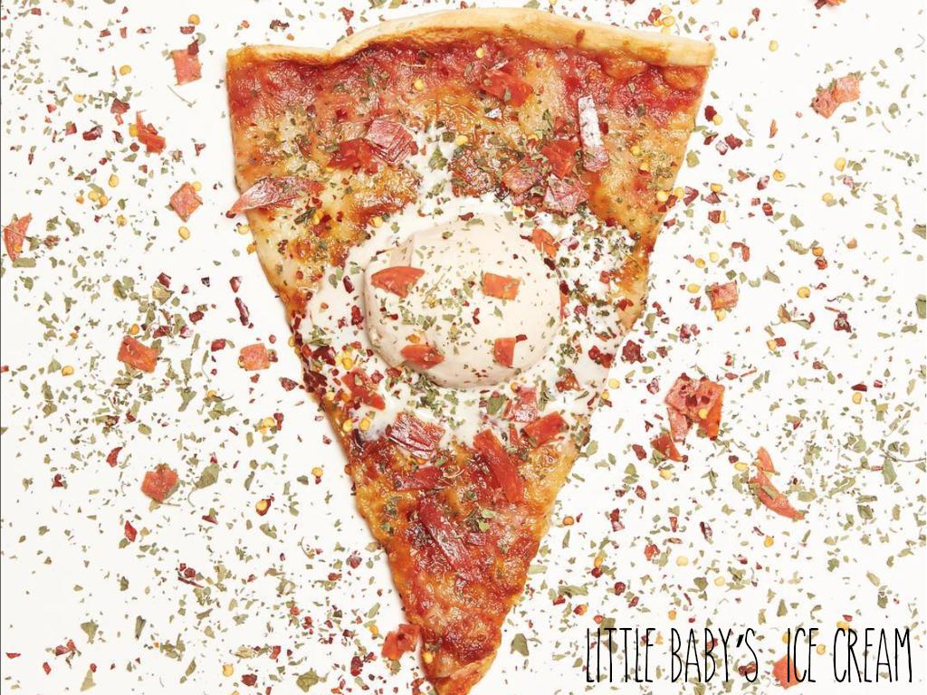 Tendance Américaine 2019 : la glace saveur pizza