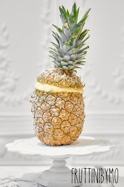 Ananas fourré de glace Fruttini