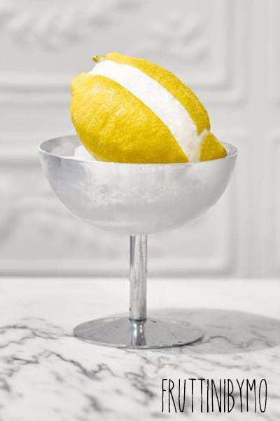 Fruit citron glacé