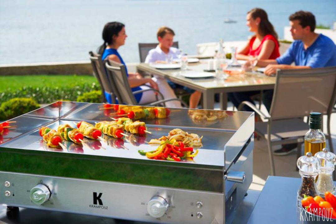 La Plancha : pour une cuisine simple et saine !