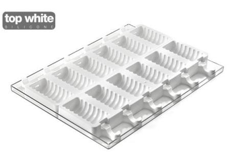 Moule en silicone pour préparer des glaces